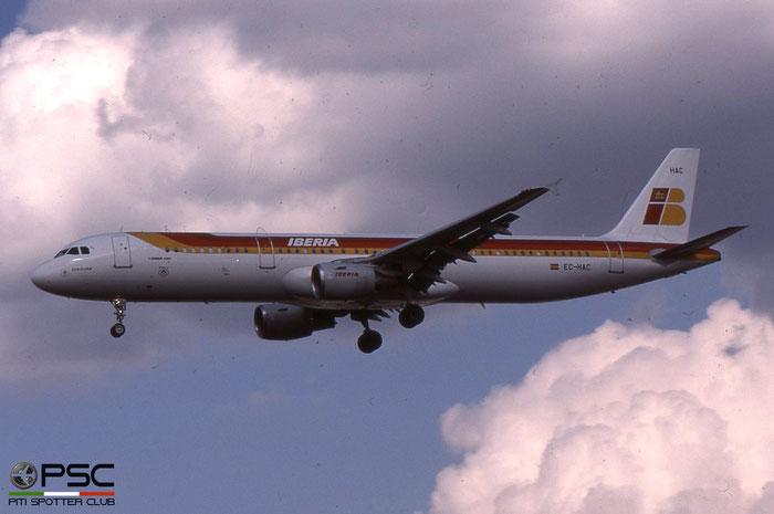 EC-HAC A321-211 1021 Iberia Líneas Aéreas de España © 2018 courtesy of Marco Ceschi - Piti Spotter Club Verona
