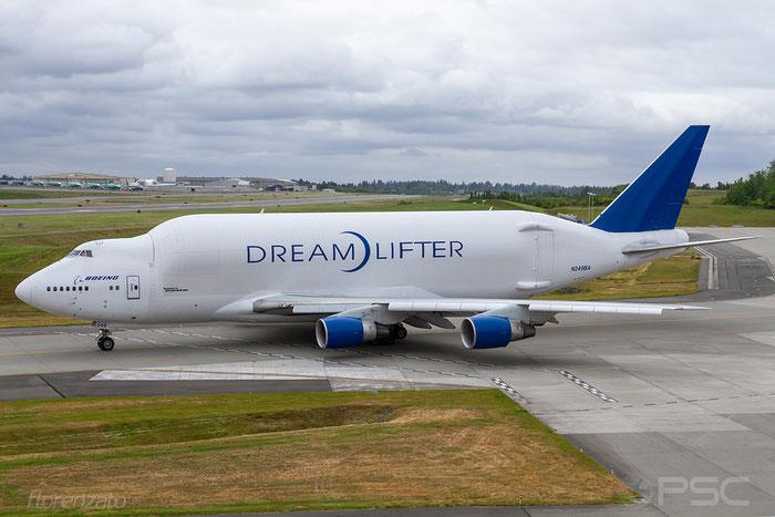 N249BA B747-409LCF 24309/766 Atlas Air @ Seattle Paine Field 05.2018 © Piti Spotter Club Verona