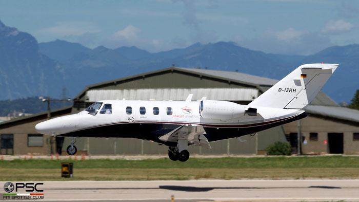 D-IZRH  Ce525  525-0089  Luxaviation Germany  @ Aeroporto di Verona 08.2021 © Piti Spotter Club Verona