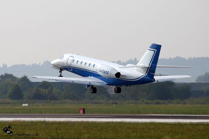 I-TAOS Ce680 680-0309 Compagnia Generale Ripresaeree - @ Aeroporto di Verona - 30/09/2016 © Piti Spotter Club Verona