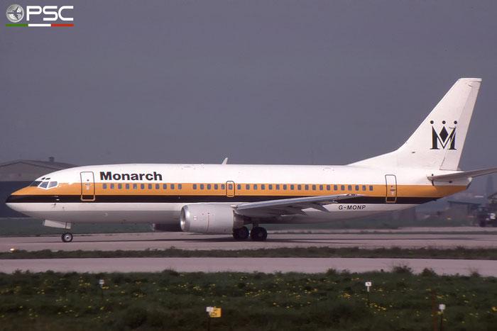 G-MONP  B737-33A  24028/1599  Monarch Airlines   @ Aeroporto di Verona © Piti Spotter Club Verona