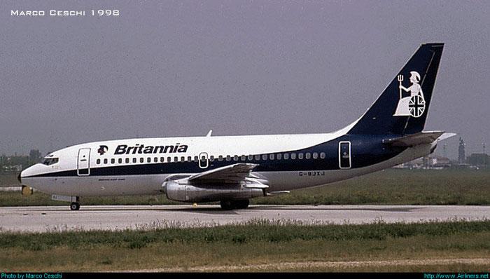 G-BJXJ B737-219 22657/846 Britannia Airways @ Aeroporto di Verona © Piti Spotter Club Verona