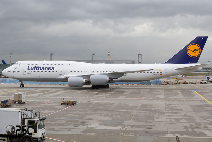 D-ABYP B747-830 37839/1500 Lufthansa @ Frankfurt Airport  22.10.2014 © Piti Spotter Club Verona