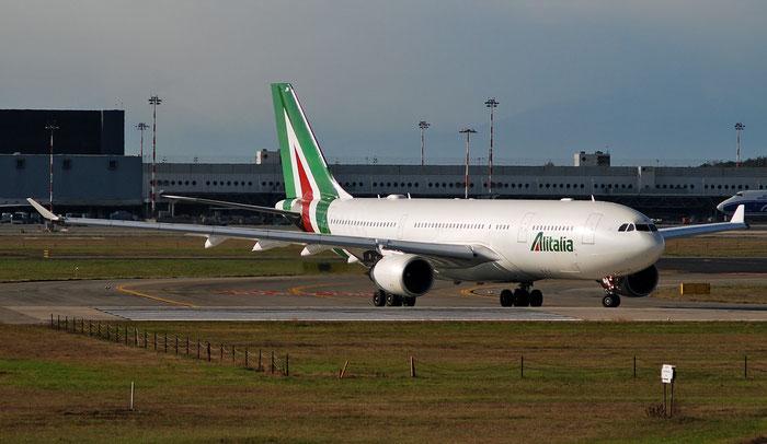EI-EJM A330-202 1308 Alitalia @ Milano Malpensa 09.12.2018 © Piti Spotter Club Verona