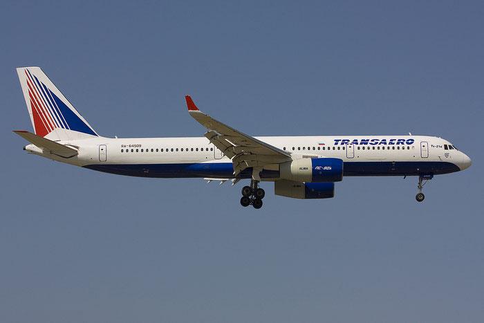 43406009 Tu-214 RA-64509 Transaero @ Rimini Airport 14.07.2012 © Piti Spotter Club Verona