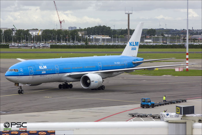PH-BQF B777-206ER 29398/474 KLM Asia Airlines @ Amsterdam Airport - 09.2013  © Piti Spotter Club Verona