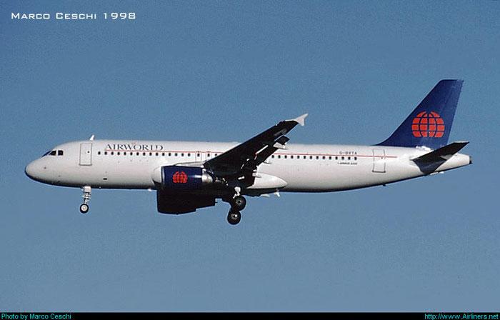 G-BXTA  A320-214  764  Airworld Aviation  @ Aeroporto di Verona © Piti Spotter Club Verona