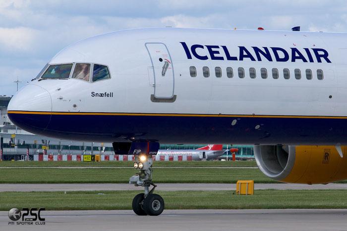 TF-FIP B757-208 30423/916 Icelandair @ Manchester Airport 13.05.2014 © Piti Spotter Club Verona