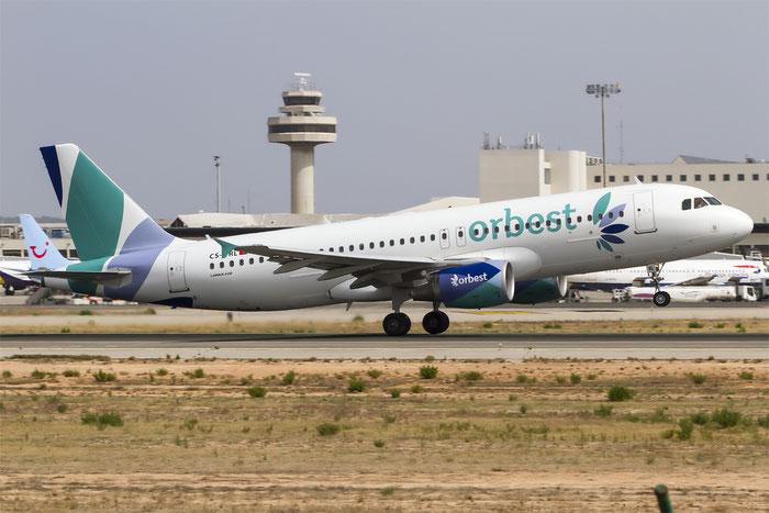CS-TRL A320-214 3758 Orbest @ Palma de Mallorca Airport 07.2014 © Piti Spotter Club Verona