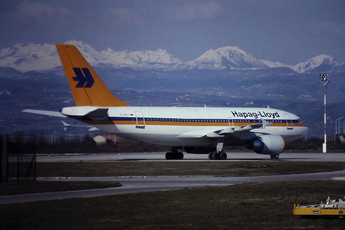 D-AHLV A310-204 430 Hapag-Lloyd Flug @ Aeroporto di Verona - © Piti Spotter Club Verona