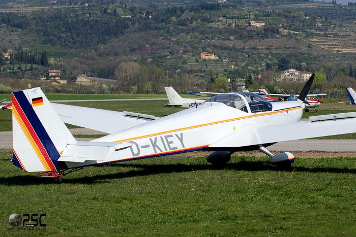 D-KIEY Scheibe SF-25C Falke 2000 SF25 44676 @ Aeroporto Verona Boscomantico © Piti Spotter Club Verona