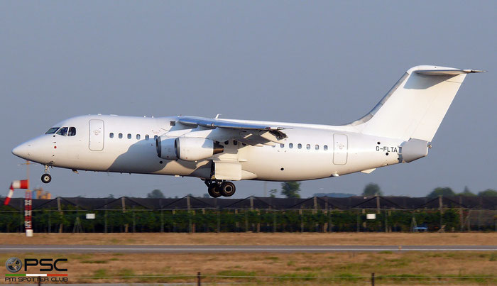 G-FLTA BAe146-200 E2048 Flightline (UK) @ Aeroporto di Verona   © Piti Spotter Club Verona