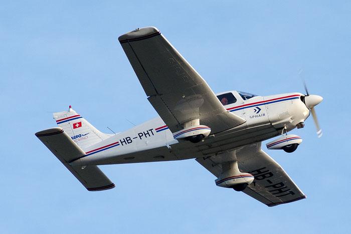 HB-PHT Piper PA-28-181 Archer 3 P28A @ Aeroporto di Bolzano © Piti Spotter Club Verona