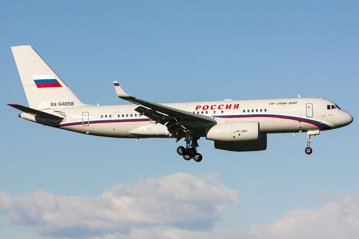 RA-64058 1450744164058 Tu-204-300 RA-64058 Rossiya @ Trieste Airport 26.11.2013 © Piti Spotter Club Verona