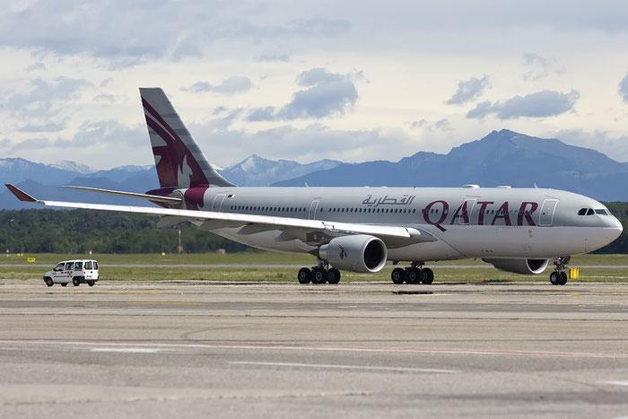 A7-ACM A330-202 849 Qatar Airways @ Milano Malpensa Airport 13.05.2014 © Piti Spotter Club Verona