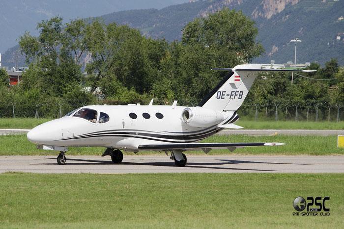 OE-FFB Cessna 510 Citation Mustang C510 510-0065 @ Aeroporto di Trento © Piti Spotter Club Verona