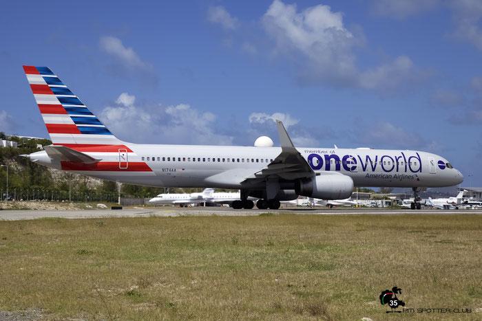N174AA B757-223 31308/998 American Airlines @ Sint Maarten Airport 05.03.2016 © Piti Spotter Club Verona