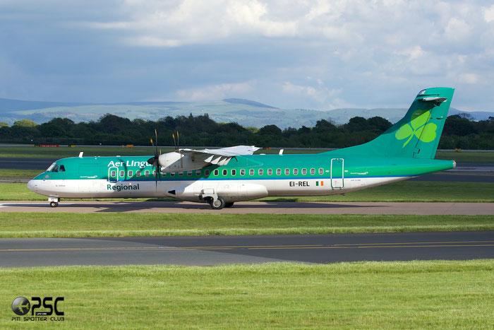EI-REL ATR72-212A 748 Stobart Air opf Aer Lingus Regional @ Manchester Airport 13.05.2014 © Piti Spotter Club Verona