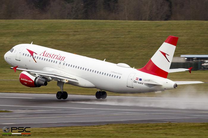 OE-LBQ  A320-214  1137  Austrian Airlines  @ Birmingham Airport © Piti Spotter Club Verona