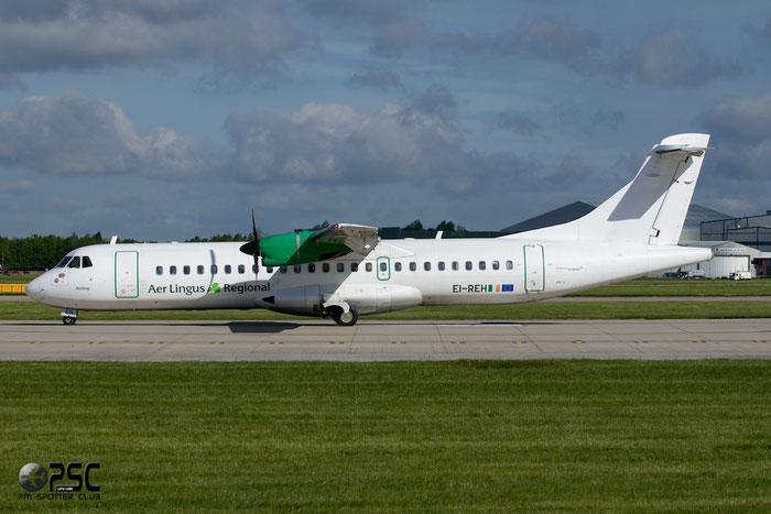 EI-REH ATR72-201 260 Stobart Air  opf Aer Lingus Regional  @ Manchester Airport 13.05.2014 © Piti Spotter Club Verona