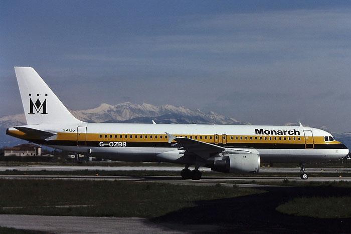 G-OZBB A320-212 389 Monarch Airlines @ Aeroporto di Verona © Piti Spotter Club Verona
