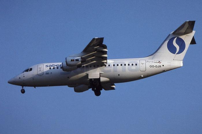 OO-DJR BAe146-RJ85 E2290 DAT - Delta Air Transport opf SABENA Belgian World Airlines @ Aeroporto di Verona - © Piti Spotter Club Verona