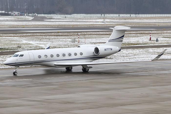 N1777M G650 6094 Wells Fargo Bank @ Zurich Airport 19.01.2016 © Piti Spotter Club Verona