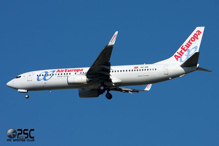 EC-JHL B737-85P 33976/1740 Air Europa @ Milano Malpensa Airport 06.04.2014 © Piti Spotter Club Verona