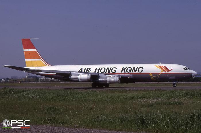 VR-HKL  B707-321C  19367/637  Air Hong Kong © courtesy of Marco Ceschi - Piti Spotter Club Verona