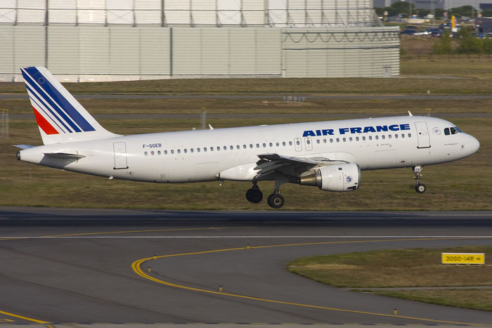 F-GGEB A320-111 12 Air France @ Toulouse Airport 10.2008 © Piti Spotter Club Verona