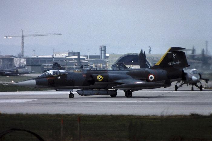 Gli F-104 del Terzo Stormo: 3-34 -  @ Aeroporto di Verona   © Piti Spotter Club Verona