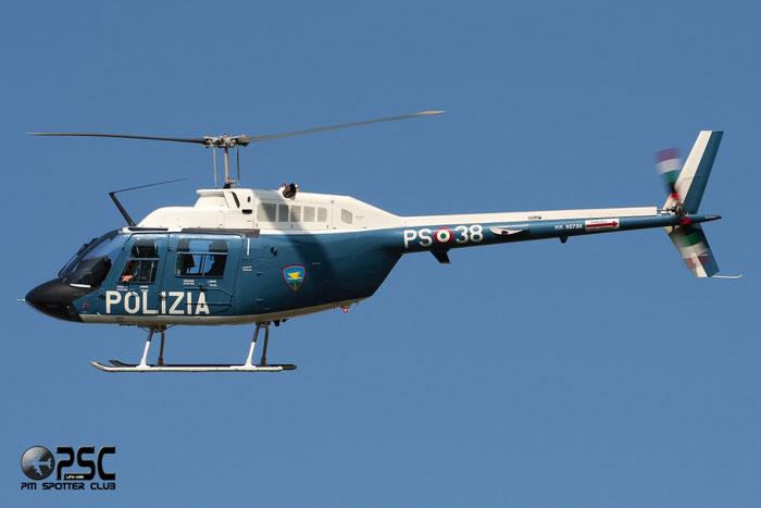 MM80738  PS-38  AB206A-1  9071 @ Aeroporto di Verona   © Piti Spotter Club Verona