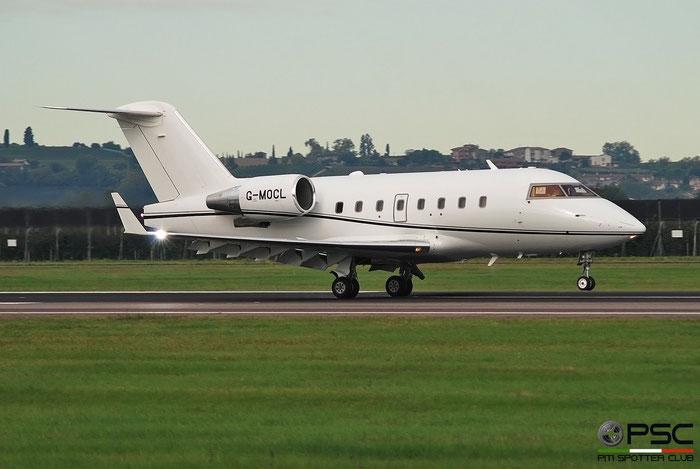 G-MOCL  CL-604  5620  Luxaviation UK @ Aeroporto di Verona 2020 © Piti Spotter Club Verona