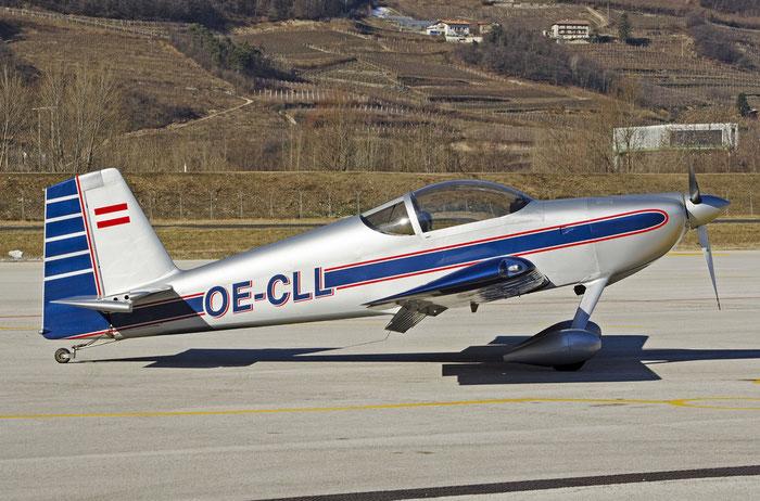 OE-CLL - Vans RV-9A - Private @ Aeroporto di Trento © Piti Spotter Club Verona