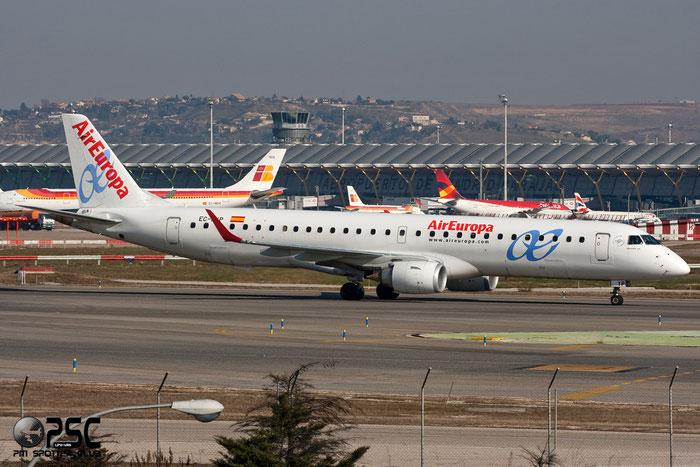 EC-KYP ERJ195LR 19000281 Air Europa @ Madrid Airport 01.2012 © Piti Spotter Club Verona