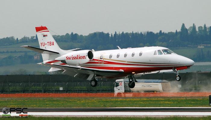 YU-TBA Ce560XLS+ 560-6249 Swisslion-Takovo d.o.o. @ Aeroporto di Verona 04.2019  © Piti Spotter Club Verona
