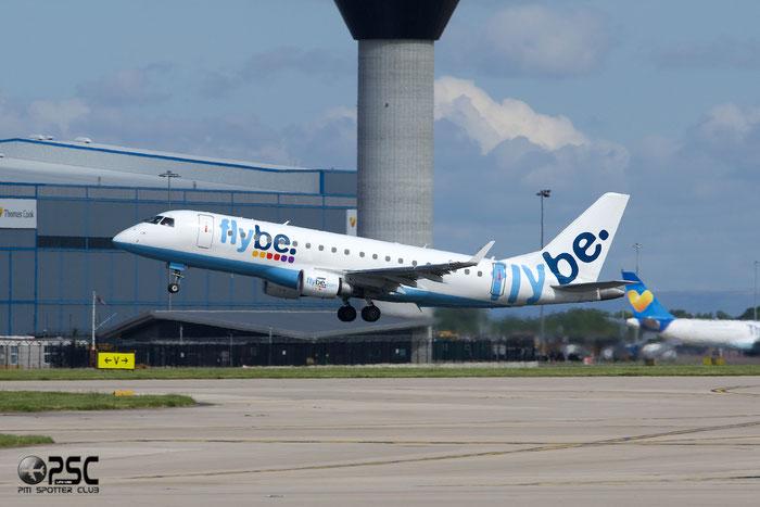 G-FBJI ERJ175STD 17000355 Flybe - British European @ Manchester Airport 13.05.2014 © Piti Spotter Club Verona
