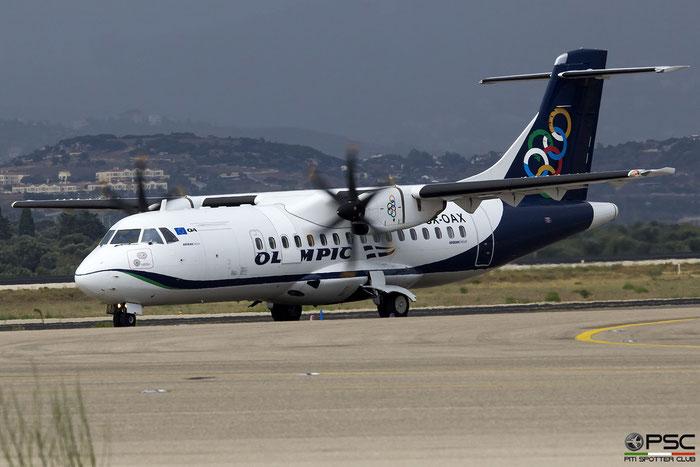 SX-OAX  ATR42-500  1016  Olympic Air  @ Athens 2019 © Piti Spotter Club Verona