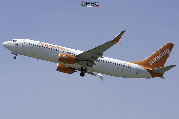 C-FYJD B737-8Q8 41807/5420 Sunwing Airlines @ Aeroporto di Verona 06.2019  © Piti Spotter Club Verona