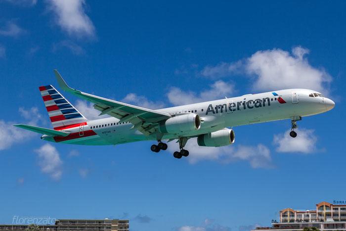 N187AN B757-223 32381/965 American Airlines @ Sint Maarten Airport 09.04.2016 © Piti Spotter Club Verona