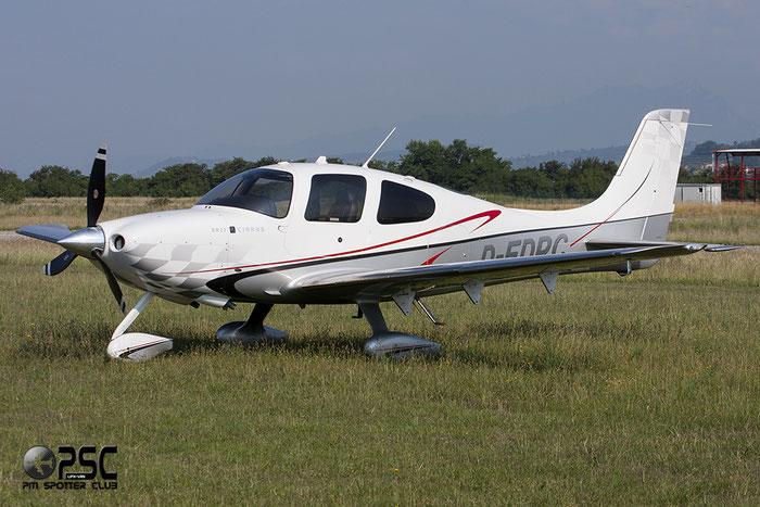 D-EDPC Cirrus Design Corp SR-22 SR22 3503 @ Aeroporto Verona Boscomantico © Piti Spotter Club Verona