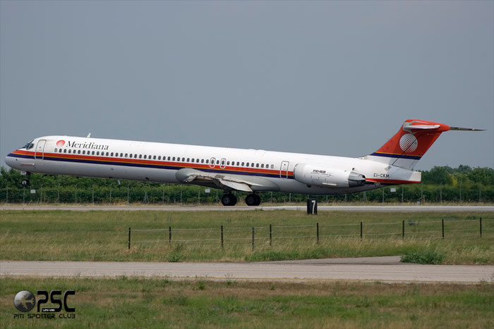 EI-CKM  MD-83  49792/1655  Meridiana @ Aeroporto di Verona © Piti Spotter Club Verona