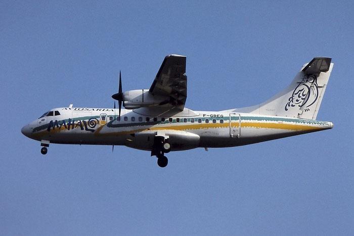 F-GREG  ATR42-320  358  Aviosarda  @ Aeroporto di Verona © Piti Spotter Club Verona