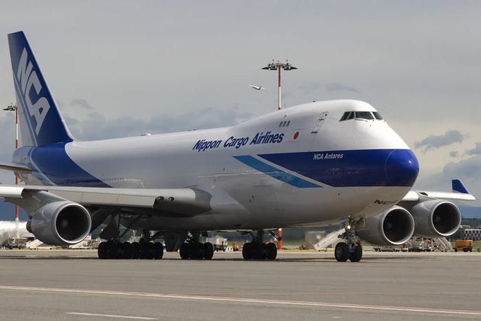JA06KZ B747-4KZF 36133/1397 NCA - Nippon Cargo Airlines @ Milano Malpensa Airport 07.2009 © Piti Spotter Club Verona