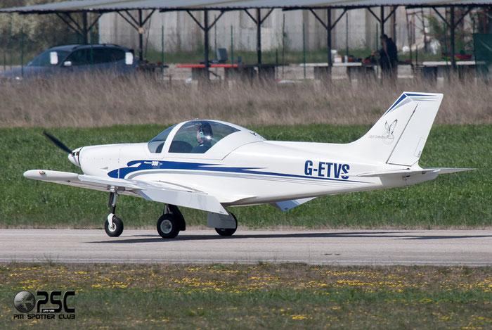G-ETVS Alpi Pioneer 300 PNR3 @ Aeroporto Verona Boscomantico © Piti Spotter Club Verona