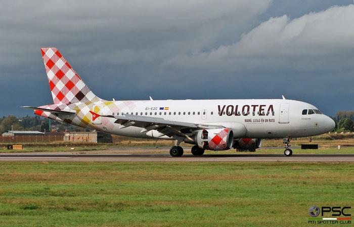 EI-EZC A319-112 2879 Volotea Air @ Aeroporto di Verona 12.2019  © Piti Spotter Club Verona