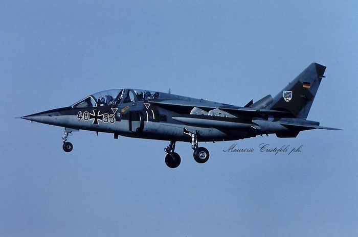 40+93   Alpha Jet A  0093 © Piti Spotter Club Verona @ Aeroporto di Verona