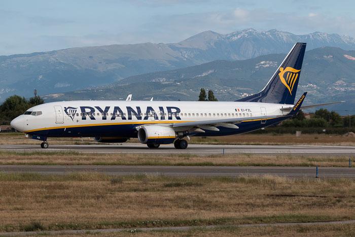 EI-FZL B737-800 44784/6366 Ryanair @ Aeroporto di Verona 21.08.2017  © Piti Spotter Club Verona