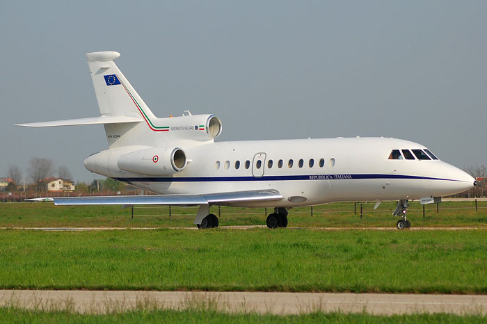 MM62244 - Italy - Air Force - Dassault Falcon 900EXE - MM62244 @ Aeroporto di Verona © Piti Spotter Club Verona