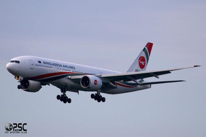 S2-AHL B777-266ER 32630/368 Biman Bangladesh Airlines @ Frankfurt Airport 25.07.2014 © Piti Spotter Club Verona